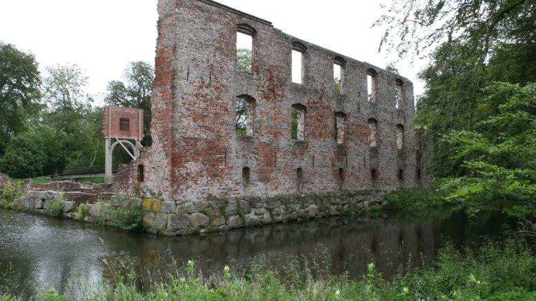Trøjborg Slotsruin, Trøjborgvej, 6261 Bredebro